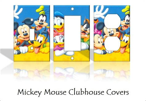 disney light switch covers mickey mouse clubhouse disney light switch covers