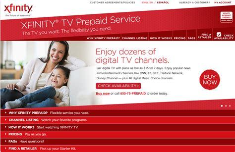 comcast xfinity help desk comcast now testing prepaid service but with no
