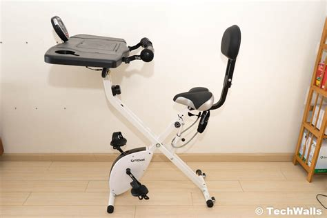 fitdesk 3 0 desk exercise bike with massage bar white fitdesk fdx 3 0 exercise bike desk with tablet holder review