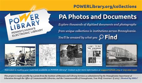 Pa Photos And Documents 187 promotional materials power library