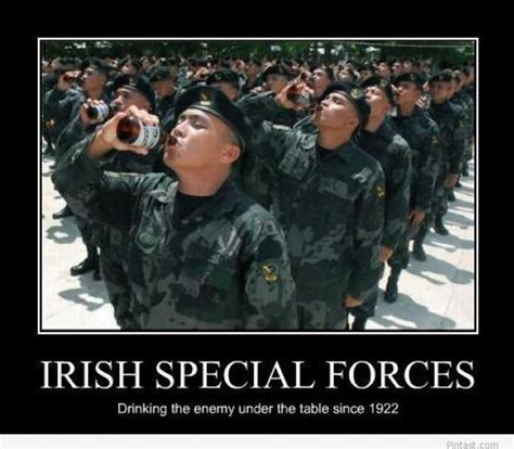 Irish Memes - funny irish army 2014 poster pintast