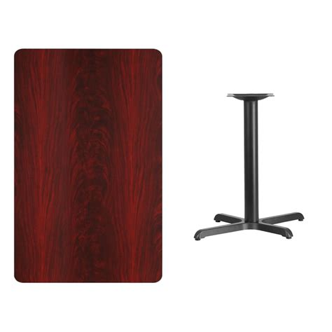 30 X 48 Table Top by 30 X 48 Rectangular Mahogany Laminate Table Top With