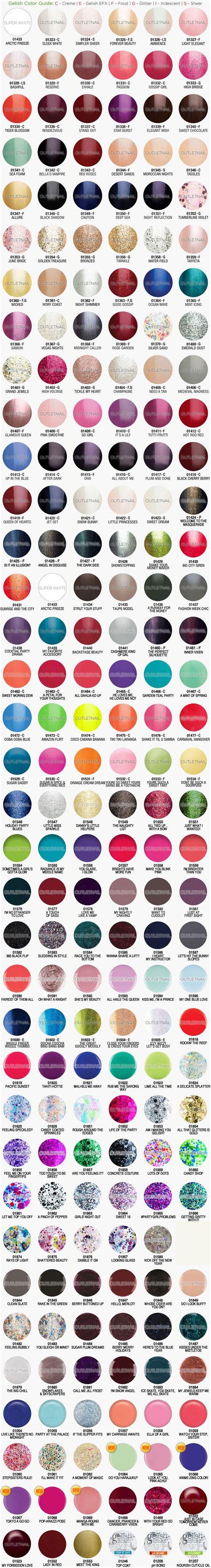 harmony gelish colors best 25 gelish colours ideas on gelish nail