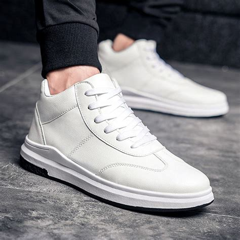 comfortable high top sneakers men comfortable genuine leather high top sneakers alex nld
