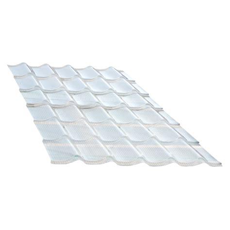 Tuile Transparente by Panneau Tuiles Polycarbonate 1 18 X 1 22 M