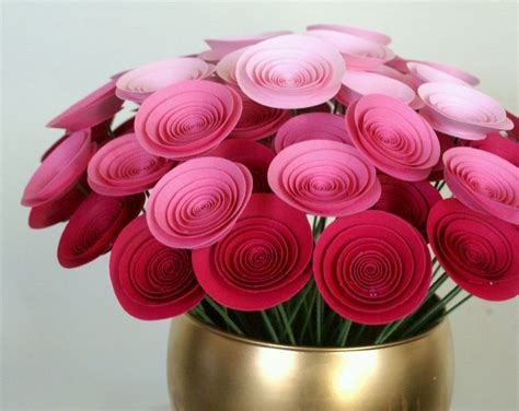 Paper Flower Craft Ideas - handmade paper craft ideas flower search