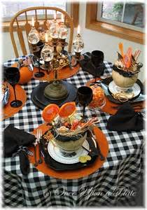 Cheap Dinner Tables Southern Blue Celebrations Halloween Party Table Ideas