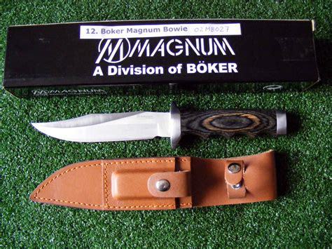boker magnum bowie frenchy s custom knives bushcraft and knives