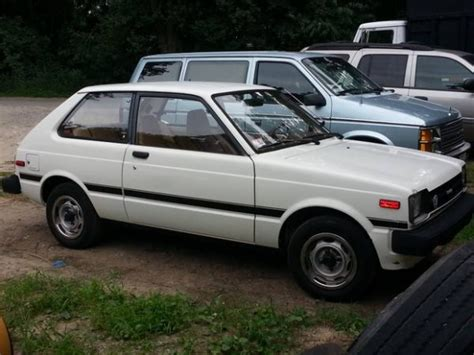 Toyota Starlet For Sale Usa Original Paint 1981 Toyota Starlet Bring A Trailer