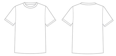 White T Shirt Template Beepmunk Free Printable Graphics Template