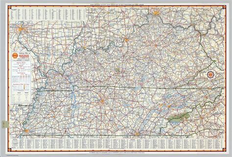 map of kentucky and tennessee kentucky tennessee map map