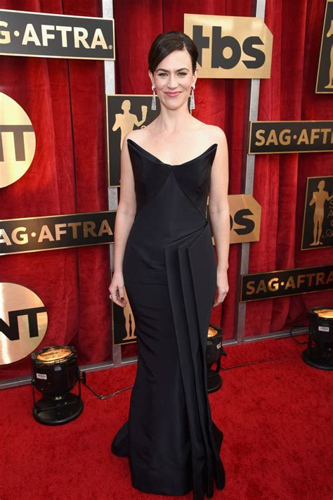 2008 Screen Actors Guild Awards The Carpet 2 by Maggie Siff Photos Photos The 23rd Annual Screen Actors