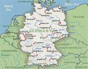 Germany On The Map by Germany Tourism Germany Map Berlin Hotels