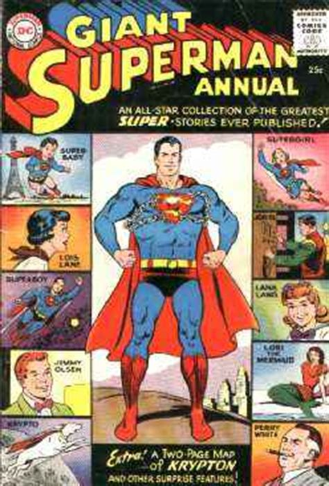 Setelan Superman Gw 252 the silver age superman annuals