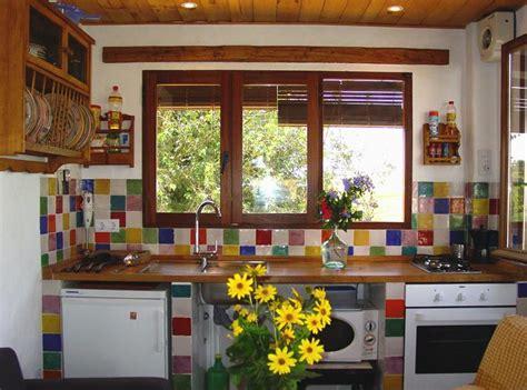 azulejos para cocina color naranja