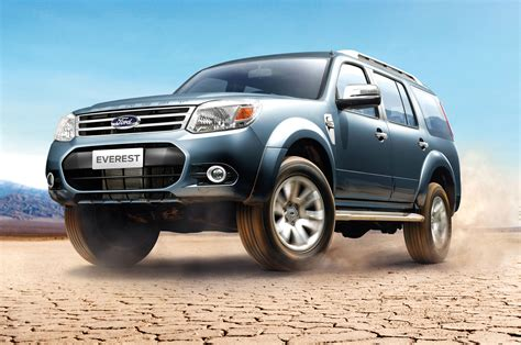 suv ford ford ranger based everest concept suv debuts in australia