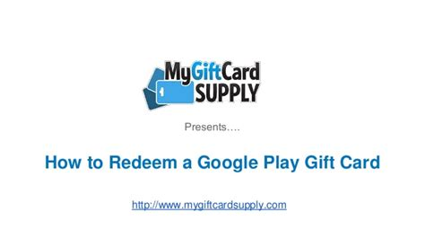 How To Redeem Paypal Gift Card - how to redeem a google play gift card