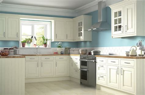 kitchen design b and q it holywell cream style classic framed diy at b q