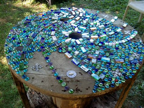 Mosaic Ideas For Garden Indigoearth And Studios Funky Garden Series Mosaic Project