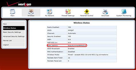 how to reset verizon router admin password versalink 7500 wpa2 or wpa security key high speed
