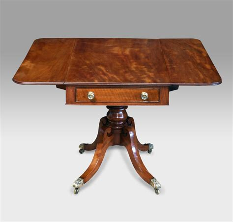 Antique Pedestal Pembroke Table Pembroke Table Sofa Sofa Table Uk