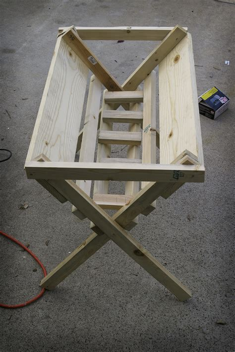 how to build an outdoor manger for a nativity step by step manger graphic design