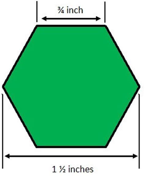 8 inch hexagon template 8 inch hexagon template clipart best
