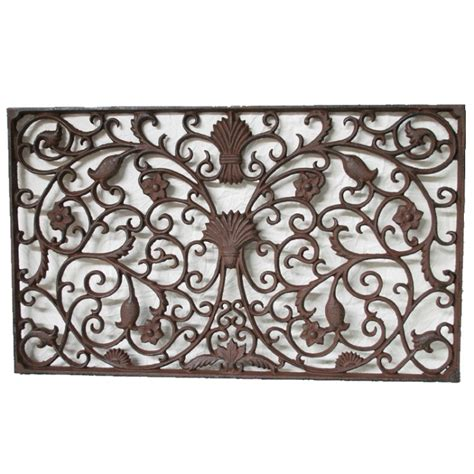 Cast Iron Doormat Cast Iron Rectangle Grande Doormat Kidscollections