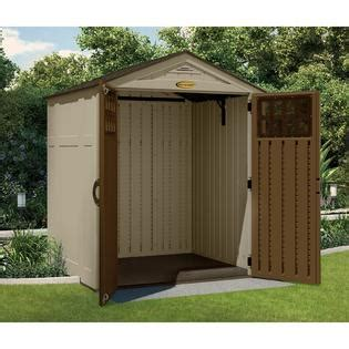 Kmart Storage Sheds by 6 X 5 Resin Shed Protect Your Gear With Sears