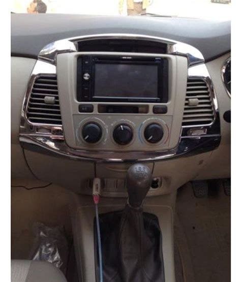 Innova Interior Accessories by Autofurnish Toyota Innova New Interior Chrome Buy