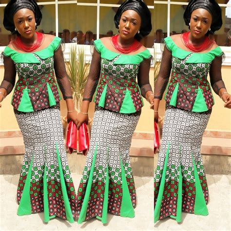 ankara styles skirt and blouse check out lovely ankara skirt and blouse design dezango