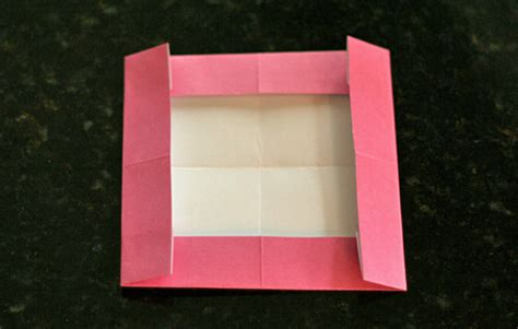 How To Make A Paper Photo Frame - simple origami picture frames make and takes