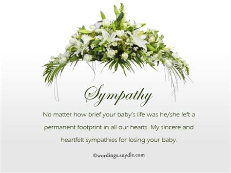 Brief Words Of Condolences Sympathy Messages For Loss Of A Child Wordings And Messages