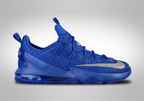 Sepatu Basket Nike Lebron 13 Low Navy White nike lebron xiii low kentucky blue for 117 50