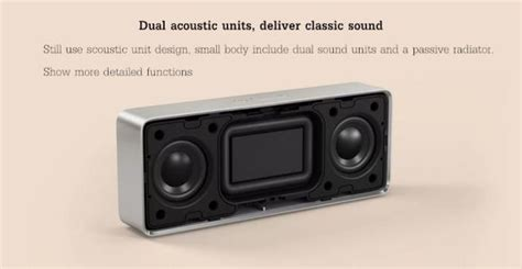 Xiaomi Square Box 2 xiaomi square box ii bluetooth speaker with 1200mah