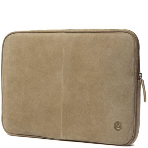 Sale Notebook Sleeve 14inch dbramante1928 leather laptop 13 inch 14 inch beige suede and brown piping computing