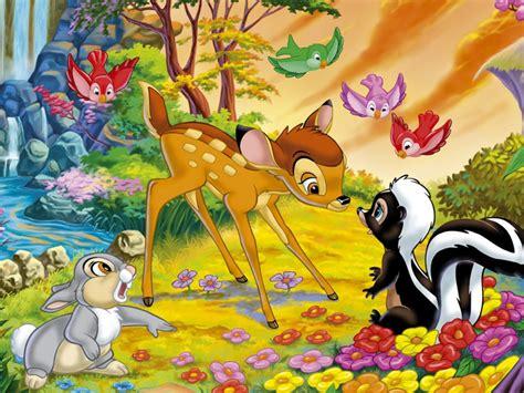 bambi flower  thumper rabbit hd wallpaper