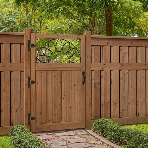 wooden backyard gates 25 best ideas about backyard fences on pinterest wood