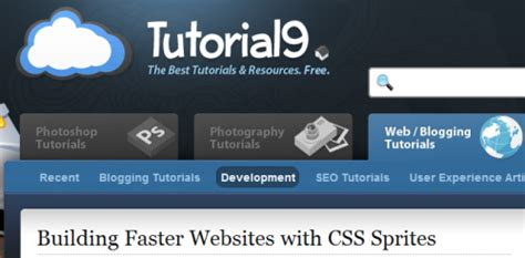 tutorial websites list 19 awesome css image sprites tutorials list of css