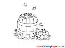 apple barrel coloring pages farm coloring pages