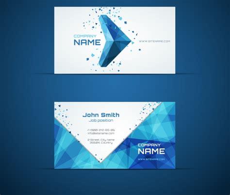 blue business card template blue arrow business card template business card
