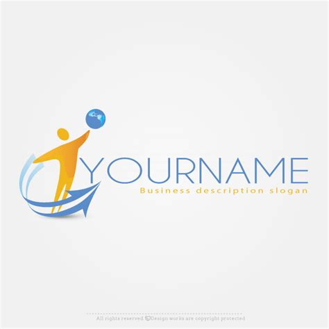 logo maker template free logo maker with globe logo design template