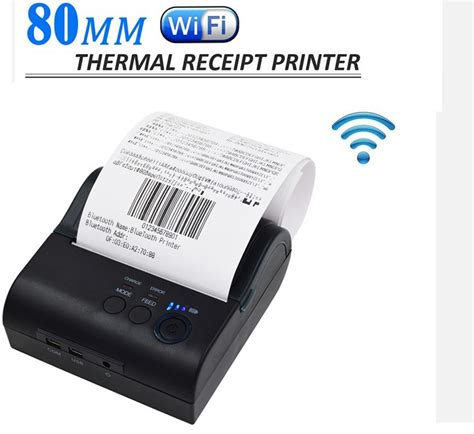 wireless printer app for android 2pcs lot wireless wifi 80mm thermal printer receipt for windows android ios smartphone in