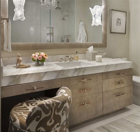 glam mirrored vanity stool glam bedroom pinterest ikat chair hollywood regency bathroom paola salinas