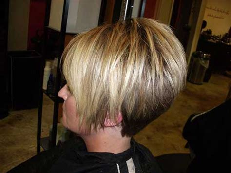 high stacked layer bob popular stacked bob haircut pictures short hairstyles