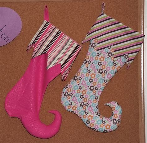 fabric elf pattern elf stockings pattern and tutorial for next year