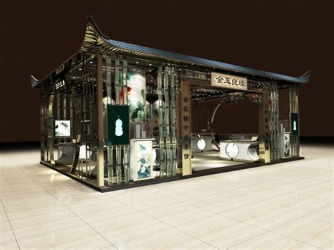 style jewelry shop design traditional culture