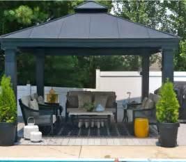 metal patio gazebo 34 metal gazebo ideas to enhance your yard and garden with