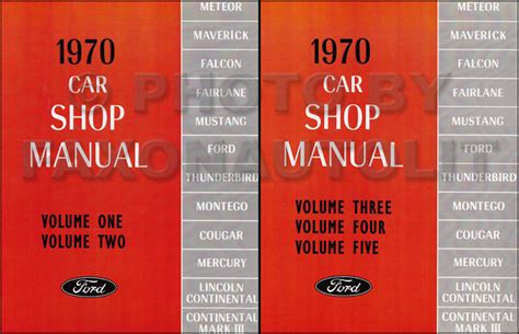 auto repair manual online 1970 ford torino regenerative braking 1970 ford shop manual mustang cougar cyclone spoiler mach i grande xr7 mercury ebay