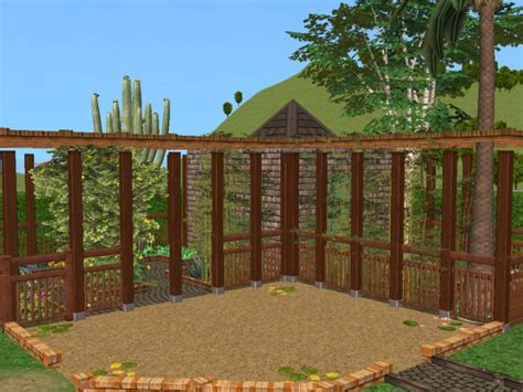 pavillon 4x5 mod the sims quot phantom manor quot